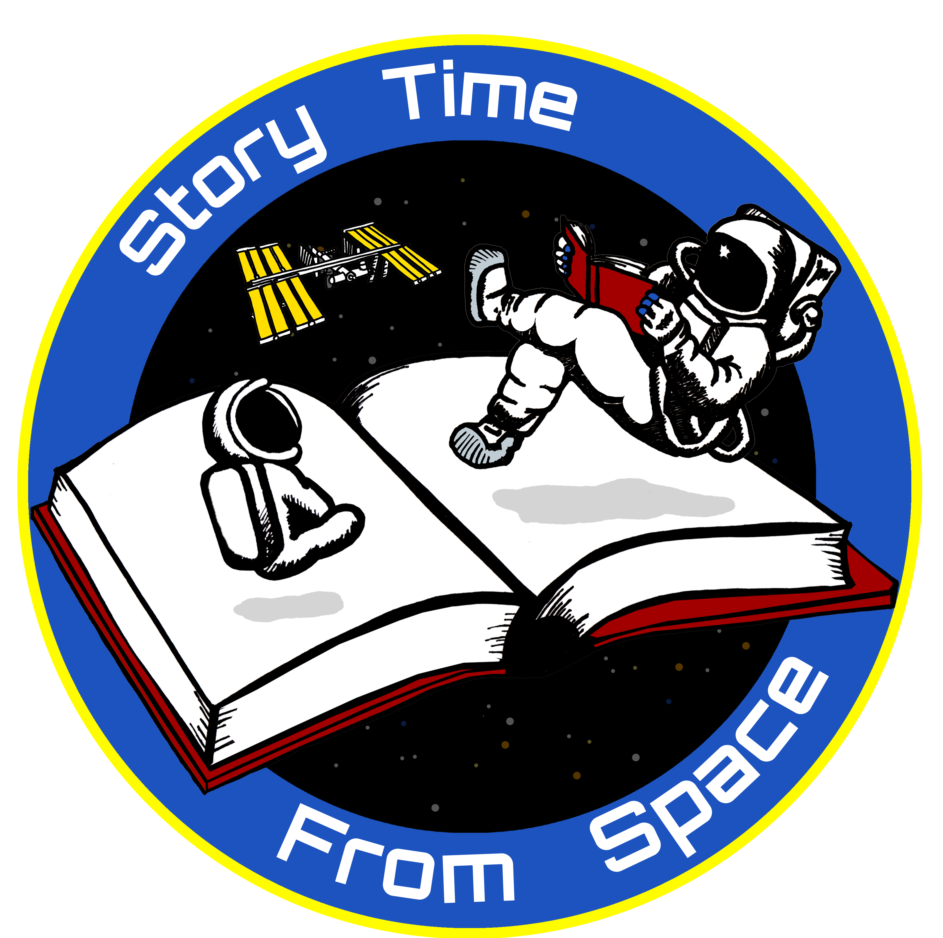 astronauts in space reading books - photo #24