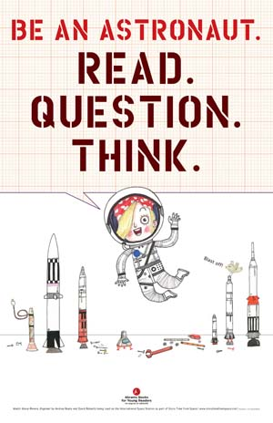 Be an Astronaut Poster (PDF)